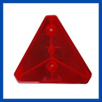 Dreieck Rückstrahler rot IWT