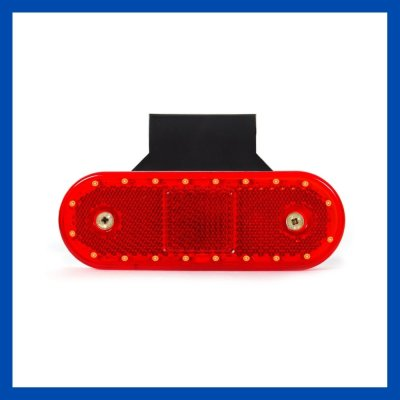 LED Umrissleuchte rot
