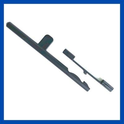 Schiebestift f. Luftklappe mit Federclip