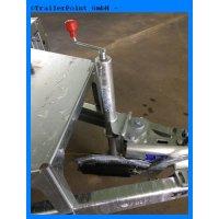 Stützradkonsole mit Automatikstützrad