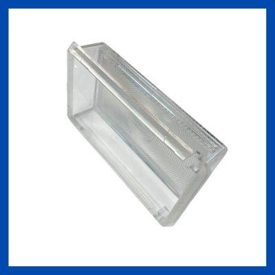 Ersatzglas mit Reflektor 104/60/27